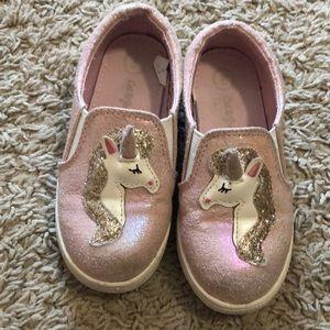 Unicorn shoes/size 8 toddler GUC